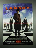 1999 HBO Lansky Movie Ad - Richard Dreyfuss