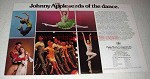 1986 Joffrey Ballet Ad - Johnny Appleseeds of the Dance