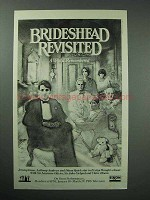 1982 PBS Great Performances Ad - Brideshead Revisited