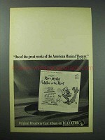 1967 Fiddler on the Roof Broadway Cast Album Ad