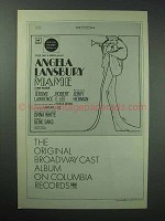 1966 Columbia Records Mame Broadway Cast Album Ad