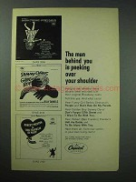 1964 Capitol Records Broadway Albums Ad - Funny Girl