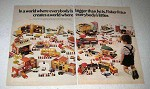 1973 Fisher-Price Toys Ad - Where Everybody's Littler
