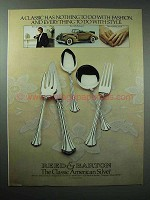 1980 Reed & Barton 18th Century Silverware Ad