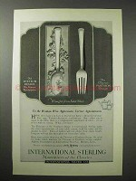 1923 International Silver Ad - Classic Pantheon, Theseum