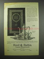 1914 Reed & Barton Francis I Silver Coffee Set Ad