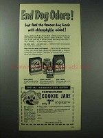 1952 Ken-L Ration, Ken-L Meal, Ken-L Biskit Dog Food Ad
