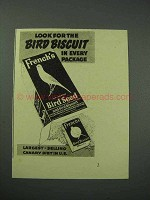 1940 French's Bird Seed Ad - Look for Bird Biscuit