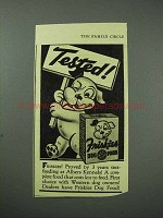 1939 Friskies Dog Food Ad - Tested!