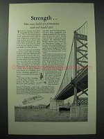 1926 Dutch Boy Paint Ad - Delaware River Bridge