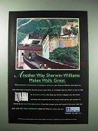 1997 Sherwin-Williams Wallpaper Ad - Another Way
