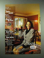 1997 Benjamin Moore Paint Ad - I Say Wait a Second