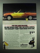 1989 Wagner Power Painting System Ad - Paint Car