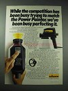 1986 Wagner Electronic Pro-duty Spraygun Painter Ad