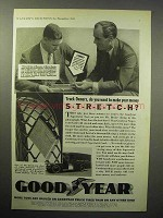 1933 Goodyear Truck Tire Ad - Make Your Money Stretch
