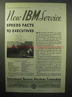 1933 IBM International Tabulating Service Bureau Ad
