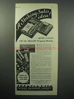 1933 Package Machinery Company Ad - Colgate-Palmolive