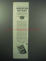 1933 Morton's Iodized Salt Ad - Greater Height