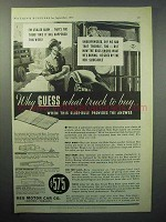 1933 Reo Truck Ad - Why Guess What Truck to Buy?