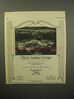 1933 Greenbrier Resort Ad - White Sulphur Springs