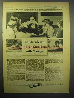 1932 Bristol-Myers Ipana Toothpaste Ad - Keep Gums Firm