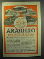 1930 Amarillo Chamber of Commerce Ad - Warehouse