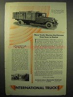 1930 International Harvester Model A-5 Speed Truck Ad