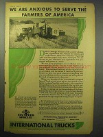1930 International Harvester Six Speed Truck Ad