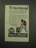 1930 Ken-L-Ration Dog Food Ad