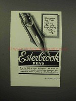 1930 Esterbrook 048 Pen Ad - More People Buy