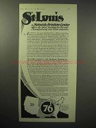 1929 St. Louis Missouri Industrial Ad - Aviation Center