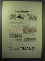 1929 Atlanta Georgia Chamber of Commerce Ad