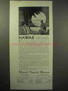 1929 Hawaii Tourism Ad - Gild Winter With Enchantment