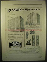 1929 Russwin Hardware Ad - Minneapolis, Hodgson Bldg