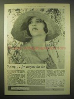 1929 Listerine Antiseptic Ad - Spring, Everyone but Her