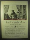 1929 AT&T Telephone Ad - There is No Standing Still