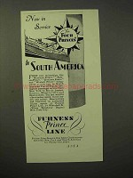 1929 Furness Prince Line Cruise Ad - South America