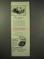 1926 Krementz Jewelry Ad - Full Dress Set No. 1488