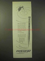 1926 Eversharp Pencil Ad - Good Fish in The Sea