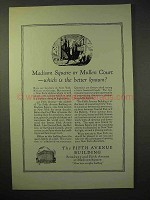 1926 The Fifth Avenue Building Ad - Madison Square