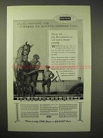1926 Dupont Duco Finish Ad - Unlike Anything Else