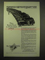 1926 Buick Car Ad - Fleet is Dedicated to Wear