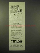 1926 Munson Steamship Lines Cruise Ad - South America