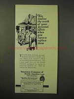 1926 Insurance Company of North America Ad - The Worth