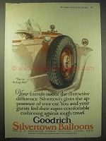 1925 Goodrich Silvertown Balloon Tire Ad - Long Run