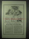 1925 American Face Brick Association Ad - House No. 636