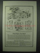 1925 American Face Brick Association Ad - House No. 805