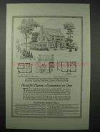 1925 American Face Brick Association Ad, House No 627-A