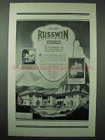 1925 Russwin Hardware Ad - Monumental Structure