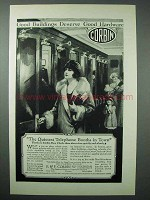1925 Corbin Hardware Ad - Door Checks, Telephone Booths